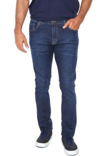 Calça Jeans Lee Slim Azul