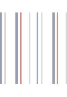 Papel De Parede Lyam Decor Soft Navy Multicolorido