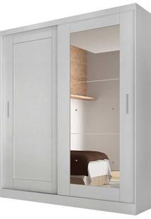 Guarda-Roupa Paris C/Espelho – Rufato - Branco