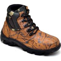 6c7ddf9b65d Bota Top Franca Shoes Adventure - Masculino-Café