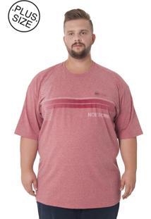 Camiseta Kairon Plus Size Vinho