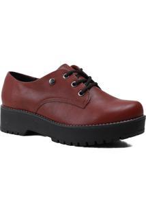 Sapato Feminino Oxford Via Marte Tratorado 20-7305