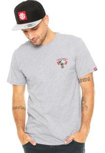 Camiseta Element Roar Cinza