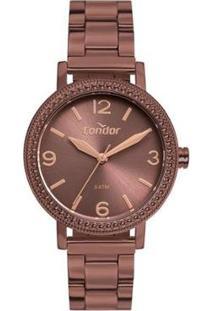 Relógio Condor Feminino Full Colors Roxo Analógico Co2035Muok4M - Feminino