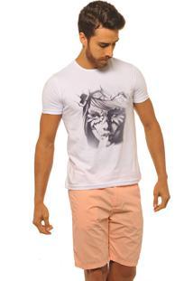 Camiseta Joss Premium New Nature Queen Mescla Branca