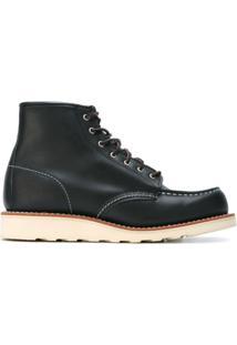 Red Wing Shoes Bota De Couro - Preto