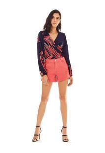 Shorts Five Pockets Color Coral
