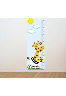 Adesivo Régua De Crescimento Girafa Juventus (0,50M X 1,50M)