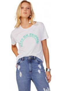 Camiseta Amaro Keep On Trippin Feminina - Feminino