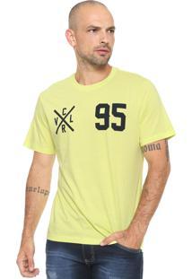 Camiseta Cavalera Estampada Verde