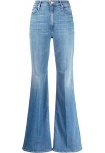 Mother Calça Jeans Flare The Doozy - Azul
