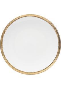 Conjunto 6 Pratos Rasos De Porcelana Durable Porcelain Wolff 27Cm – Linha Paddy