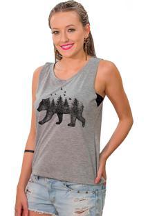 Regata Cavada Shop225 Urso Florest Mescla