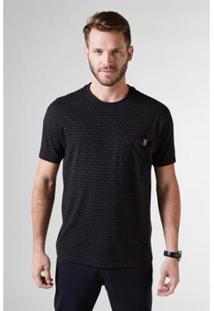 Camiseta Pf Bolso Contraste Reserva Masculina - Masculino