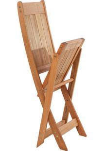 Cadeira Dobrável Acqualung S/ Braço - Wood Prime