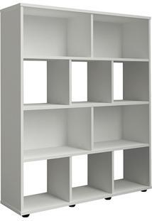 Estante Livreiro Book Organizador Branca - Artely