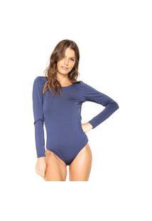 Body Brigitte Liso Azul