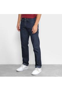 Calça Jeans Slim Dubai Street Masculina - Masculino-Azul Escuro