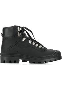 Loewe Ankle Boot Com Recortes - Preto
