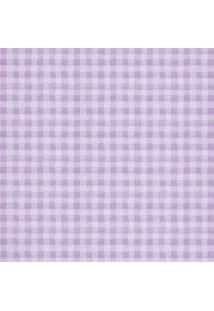 Papel De Parede Figuras Lilás Quadriculado 8067 Bobinex