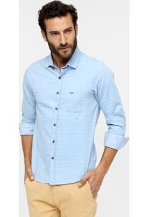 Camisa Sérgio K. Seta Slim - Masculino