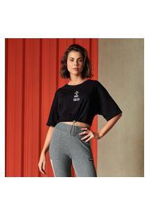 Camiseta Feminina Colcci - Preto