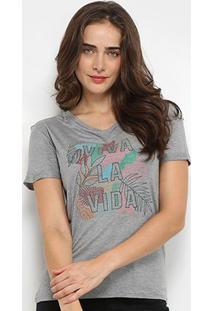 Camiseta Lez Lez Viva La Vida Feminina - Feminino