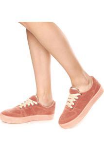 Tênis Dafiti Shoes Recortes Rosa