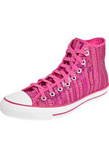 Tênis Converse All Star Ct As Hi Rosa