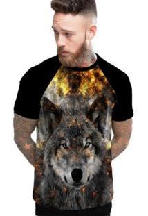 Camiseta Stompy Raglan Modelo 200 Masculina - Masculino