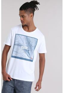 "Camiseta ""King Of The Beach"" Branca"