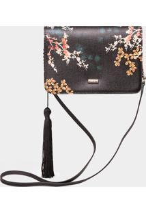 Bolsa Pequena Tiracolo Floral Arte Japonesa - Lez A Lez