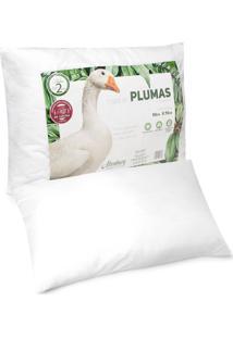 Travesseiro Altenburg Toque De Pluma 50X70Cm Branco