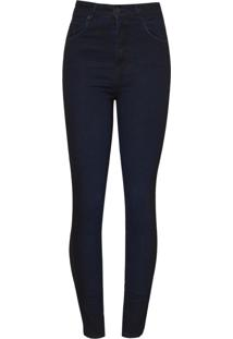 Calca Bobô Marnie Feminina (Jeans Escuro, 40)