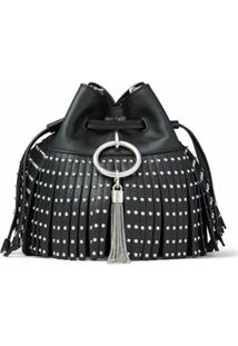 Jimmy Choo Bolsa Bucket Callie - Preto