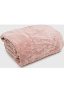 Cobertor King Kacyumara Blanket High Rosa - Rosa - Dafiti