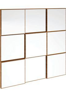 Painel Decorativo Tb86 Espelhado 0.75M Freijó
