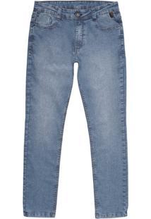 Calça Jeans Masculina Skinny Com Elastano Hering