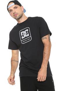 Camiseta Dc Shoes Off Limit Reflective Preta