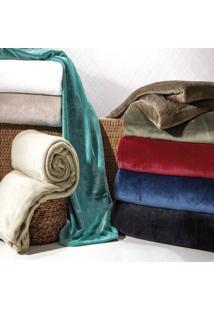 Cobertor Casal Blanket - 100% Poliéster - Kacyumara - Branco