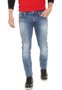 Calça Jeans Diesel Slim Thommer Azul
