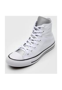 Tênis Converse Chuck Taylor All Star Branco/Prata