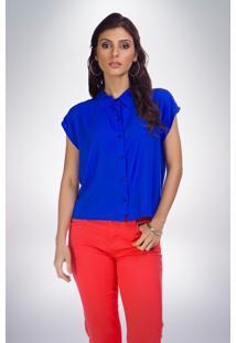 Camisa Mercatto Lisa Azul
