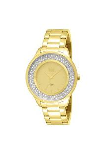 Relógio Feminino Analógico Dourado Dumont - Du2035Lmm/4X Dourado
