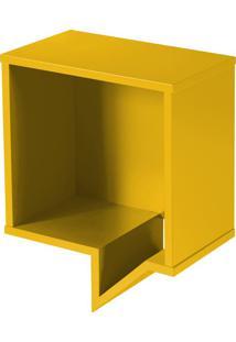 Prateleira Decorativa Quadrada Cartoon 821 Amarelo - Maxima