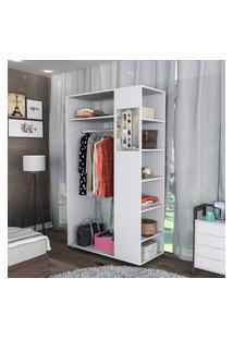 Closet Com Espelho Appunto Moove 6 Prateleiras