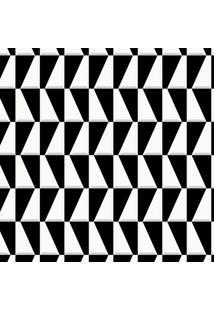 Papel De Parede Geométrico Preto (1000X52)