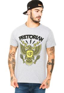 Camiseta Pretorian Eagle Cinza