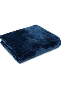 Cobertor King Kacyumara Blanket 600 Azul
