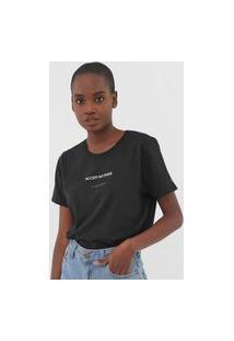 Blusa Calvin Klein Jeans Accept No Fakes Preta